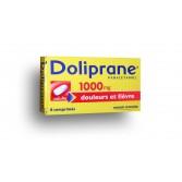 Doliprane 1000 mg paracétamol - Boite de 8 comprimés