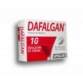 Dafalgan 1 g Upsa - Boite de 8 comprimés pelliculés