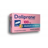 Doliprane 100 mg paracétamol - Suppositoire
