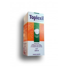 toplexil sirop toux s che oxom mazine flacon de 150 ml. Black Bedroom Furniture Sets. Home Design Ideas