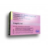Vitamine K1 Roche 2mg/0,2ml - Nourissons