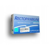 Rectopanbiline suppositoire adulte - Boite de 10