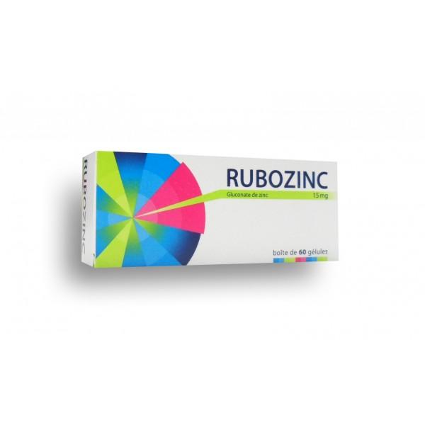 Rubozinc acné boite de 60 gélules