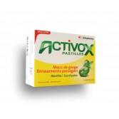Activox pastilles Maux de gorge - Menthe eucalyptus