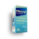 Mercryl solution antiseptique plaies superficielles - Flacon 125 ml