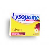 Lysopaïne ambroxol maux de gorge - Citron sans sucre