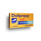 Doliprane 200 mg paracétamol - Suppositoire
