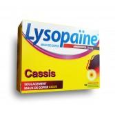 Lysopaïne ambroxol maux de gorge - Cassis sans sucre